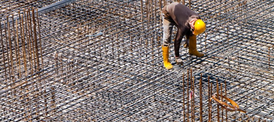 Reinforcing mesh concrete